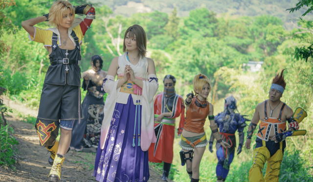 Here they are: The absolute best Final Fantasy X cosplay photos anyone's ever taken