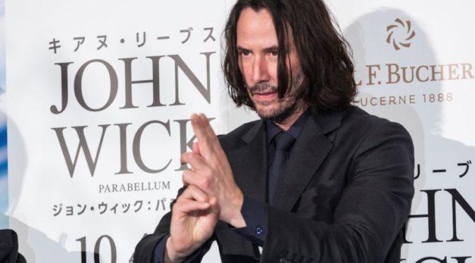 Keanu Reeves visita il Giappone (e rinvigorisce i meme a tema Naruto)