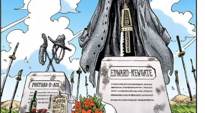 ONE PIECE: EDIFICATE LE TOMBE DI ACE E BARBABIANCA IN GIAPPONE