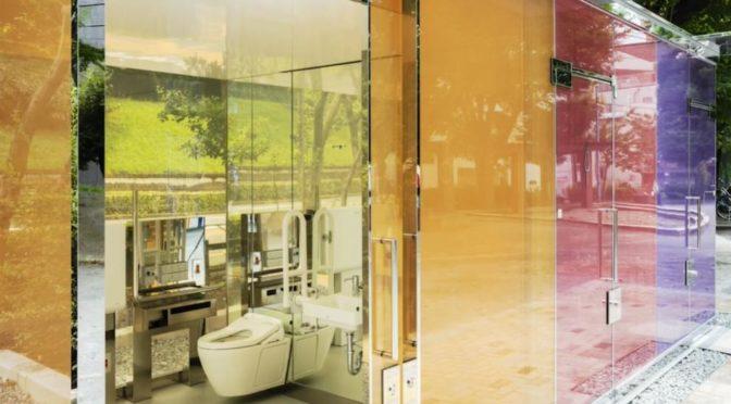 Bagni trasparenti a Tokyo