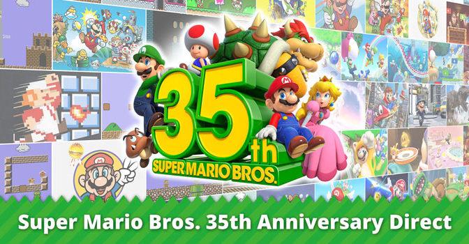 Super Mario Bros compie 35 anni!