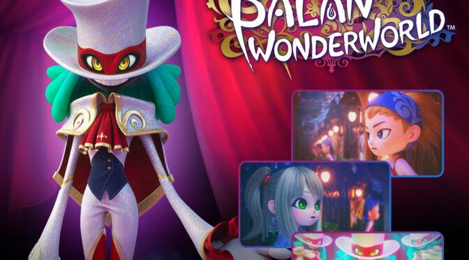 Che lo spettacolo abbia inizio! Balan Wonderworld