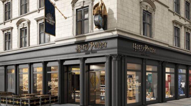 Harry Potter New York: ecco com'è il nuovo negozio di Harry Potter