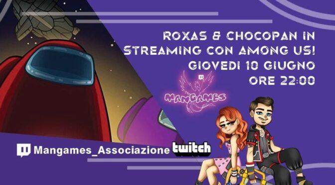Primo Live per il nuovo canale Twitch di Mangames!