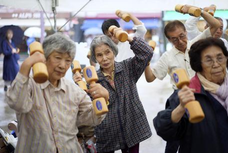 In Giappone 86.500 centenari, mai così tanti